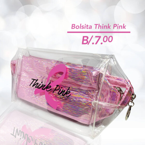 Fundacáncer - Bolsita Think Pink